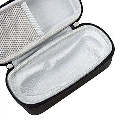 For Philips AquaTouch AT899 Wet and Dry Men's Electric Shaver 6948XL/41 2100 S1560/81 Hard EVA Protective Case Carrying Pouch Cover Bag by Hermitshell