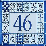Matrícula original personalizada, calle de barro barato - Elija su número y el tamaño de su muestra de la calle!
