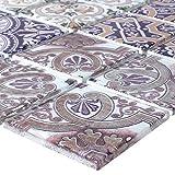 Glasmosaik Fliesen Salvador Bunt | Wandverkleidung Mosaikstein Bad Badfliesen Badezimmer Küchenspiegel