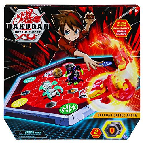 Bakugan 6045142 - Battle Arena, umrandetes Spielfeld mit exklusivem Pyrus Phaedrus Bakugan