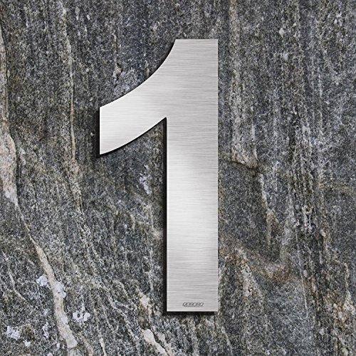 WITTERUNGSRESISTENT /… T/ürschild 30cm Ziffernh/öhe LEICHTE MONTAGE Hausnummer Edelstahl 22 V2A - 16cm 20cm 30cm 40cm 50cm ORIGINAL ALEZZIO DESIGN