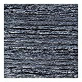 Maille name is Metallic embroidery thread Jet Hematite (105) x8m