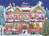 Ravensburger 14769 - Das Weihnachtshaus Puzzle -