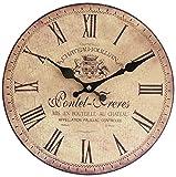 Perla PD Design Orologio da parete orologio da cucina vintage design pontet Freres ca. Ø 28 cm