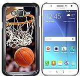 Graphic4You Baloncesto deportes rosquilla Carcasa Funda Rigida para Samsung Galaxy J7 (2016)