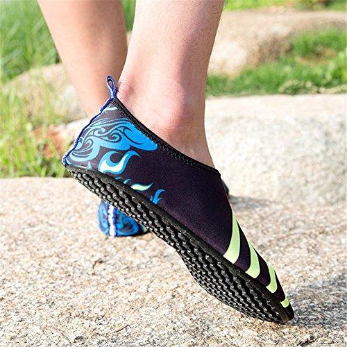 Saguaro Ladies Mens Nuotare Scarpe Da Spiaggia Sneakers Acqua Sport Nuotare Scarpe Nere