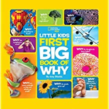 Big Book of Why: All Your Questions Answered Plus Games, Recipes, Crafts & More! (National Geographic Little Kid) (First Big Book)