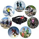 AUTOPkio Sport Trinkgürtel, Bauchtasche Gürteltasche Hüfttasche alle Handys unter 6 Zoll Pockets Waistpacks Outdoors für Fitness Radfahren Wandern Walking Männer und Frauen -