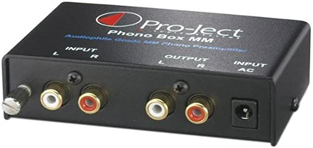 Pro-Ject Phono Box MM, Nero