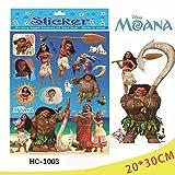Wandtattoo Moana Disney selbstklebend mehrere Elemente Die Legende des Ende der Welt Model hc-1003oder hc-1004