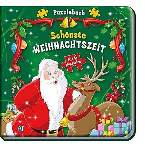 Puzzlebuch Schönste Weihnachtszeit: Mit 6 Puzzles