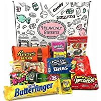 Mini caja de American Candy   Caja de caramelos y Chucherias Americanas   Surtido de 12 artículos incluido Reeses Jelly Belly Jolly Rancher   Golosinas para Navidad Reyes o para regalo