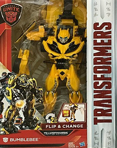Transformers Bumblebee Autobots Unite Flip and Change