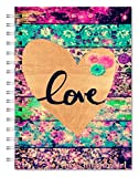 #7: Designer Nature flowers Wire Bound Ruled Paper Sheets Personal And Office Stationary Notebooks & Diary (Pages 500) by Family store