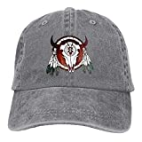 Best Buffalo Arrows - Unisex Fashion Baseball Caps Native American Buffalo Skull Review