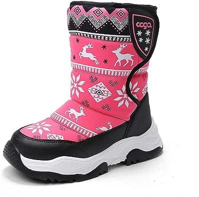 Amazon.it: Qianliuk Stivali Scarpe per bambine e ragazze