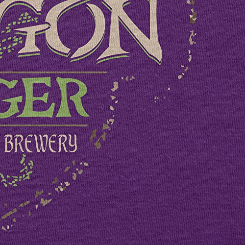 TEXLAB - Green Dragon Inn - Damen T-Shirt Violett