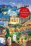Die Weihnachtsgeschichte: Türchen-Adventskalender mit 24 Geschichten zum Vorlesen