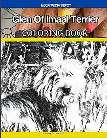 Glen Of Imaal Terrier Coloring Book