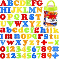 ACHICOO 78pcs/set Magnetic Letters Numbers for Kids Educational Alphabet Refrigerator Magnets Kids Gifts