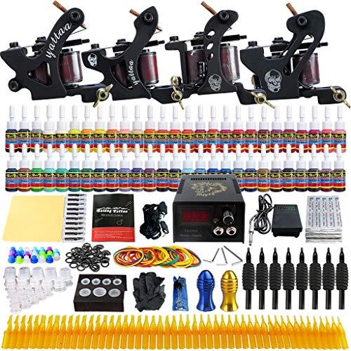 SHENG Tattoo Maschine Stickmaschine Anfänger Vier-Maschinen-Set Line Trap Wear Makeup Tools TKD02 (Farbe : TKD02)
