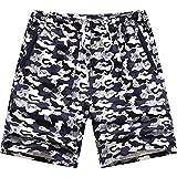 Cyzr Beach Shorts in Puro Cotone di Uomini I Pantaloni Casual Pantaloncino Estivo, La Luce E Il Colore Serie L