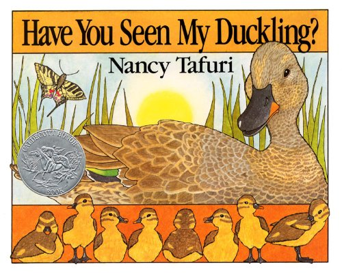 Have You Seen My Duckling? Board Book (Caldecott Collection)