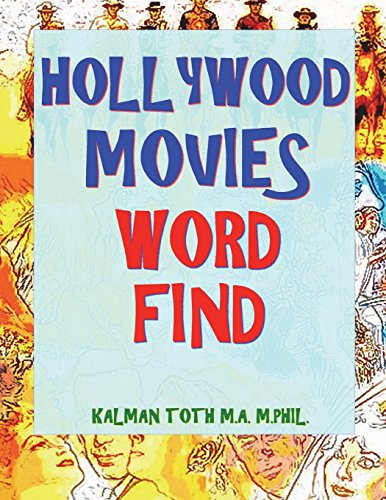 Hollywood Movies Word Find: 132 Amusing & Entertaining Movie Titles Puzzles