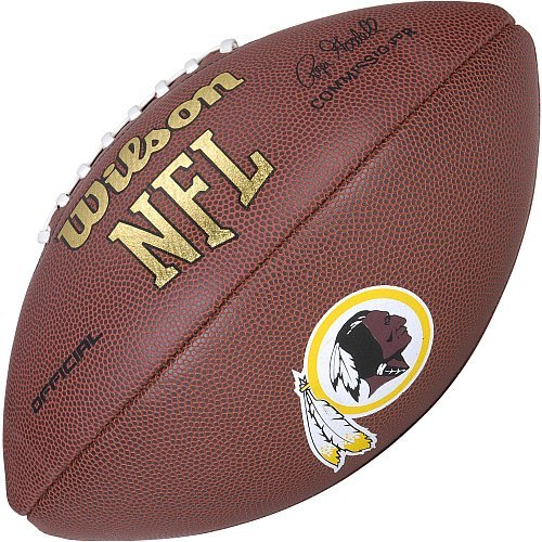 Wilson NFL Washington Redskins Full Size Composite Football by Wilson