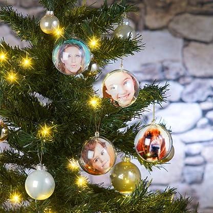 Your-Design-Deko-Kugel-8er-Set-transparente-Weihnachtsbaum-Kugel-fr-Ihre-Fotos-Deko-Kugeln