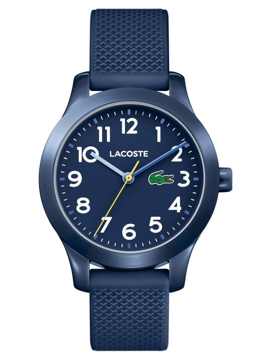 Lacoste Unisex-Kids Analogue Classic Quartz Watch with Silicone Strap 2030002