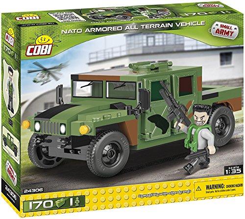 COBI 24306construcción de Juguete, Color Verde