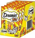 Dreamies Katzensnacks Mix / Katzenleckerli mit wertvollen Vitaminen und Mineralstoffen / Huhn & Käse / 6 x 60g