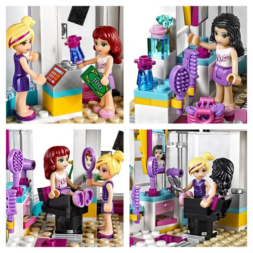 Lego friends 41093 heartlake hair salon at shop ireland for Lego friends salon de coiffure