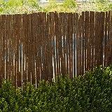 Catral 16010001 Tejido Corteza Pino Simple Cara, Marrón, 500 x 3 x 100 cm