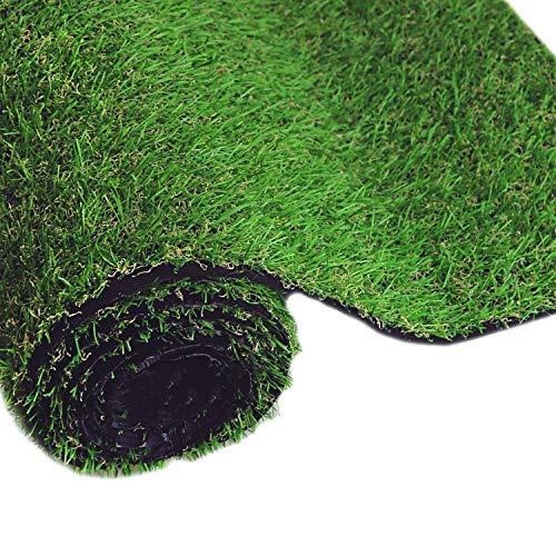 Altura de la pila de 30 mm de césped artificial sintético de primera calidad, esterilla for mascotas de jardín, con respaldo de césped y orificios de drenaje for la decoración de exteriores for mascot