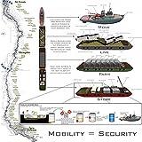 Der Museum Steckdose Charts von–Überleben Zombie Apocalypse B–A3Poster Print