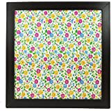 XOXOMags | Floral Pattern Magnetic Wall Frame | Wall Hanging Magnetic Board To Display Travel Magnets/Photo Magnets
