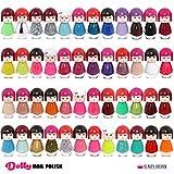 Set di 48 Smalto Per Unghie Bambola Kimono A Forma Di 48 Diversi Colori Moderni Box Di Lusso