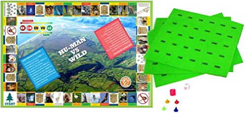 Butterflyfields Play and Learn Conservation of Wildlife, Biology Activity, Science Board Game, Grade 8/12 Years (Multicolour)