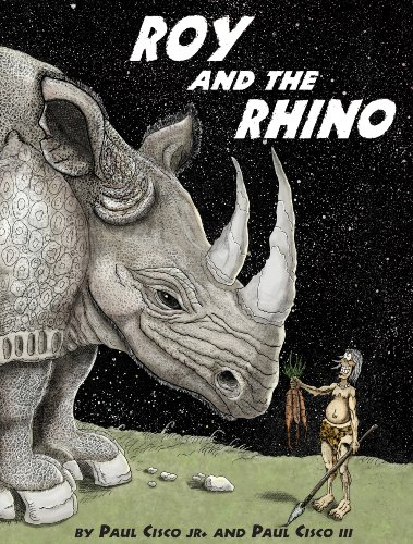 Roy and the Rhino: A Cautionary Coloring Book