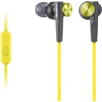 Sony MDRXB50AP/YQE Headphones (Yellow)