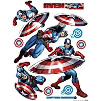 AG Diseño DKS 1092Marvel Avengers, pegatinas de pared, 30x 30cm–1notebook, papel, Colorful, 30x 30cm