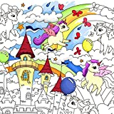O-Kroshka Colorings for Children Unicorns . Coloring Pages for Kids and Adults. Color me Pos...