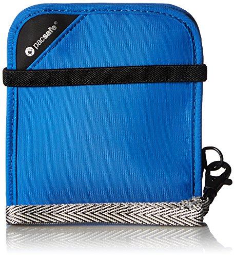 Preisvergleich Produktbild Pacsafe RFIDsafe V100, blockierender Geldgürtel mit RFID-Diebstahlschutz, blau (Blau) - PAC10556_2_Bleu/600