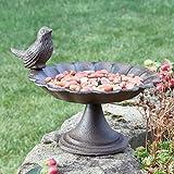 Cottage Garden Cast Iron Bird Bath - A Fantastic 6th Anniversary Gift!