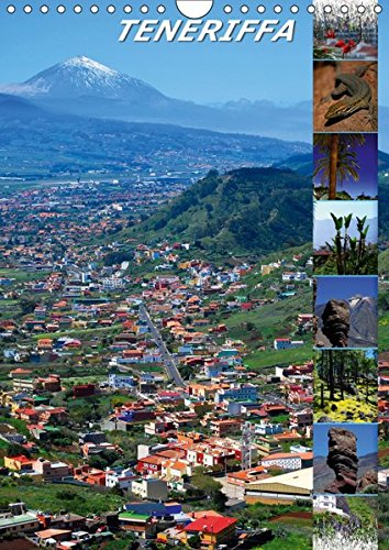 TENERIFFA (Wandkalender 2019 DIN A4 hoch): Landschaft der Insel Teneriffa (Monatskalender, 14 Seiten ) (CALVENDO Natur)