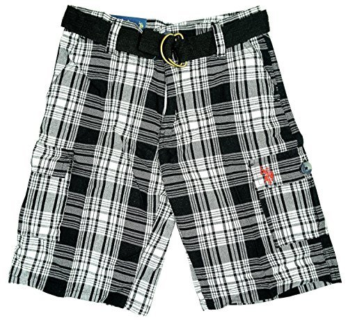 garcons-us-polo-verification-de-logo-combat-ete-short-coton-ensemble-1-ceinture-tailles-de-4-to-7-an