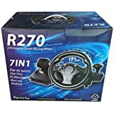 DOYO Steering Wheel, Compatible with Multi Devices - R270