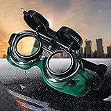 ukcreative _ UK Schweißmaske Schutzbrille für Gläser Elektrode Arbeiten Herren Supplies Sicherheit Blendschutz Schwimmbrille